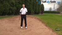 When and How to Chip From a Bunker, Golf Sand Trap Video - by Pete Styles