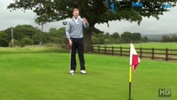 Where Should The Grip End Of The Golf Putter Point During My Followed Through Video - by Pete Styles