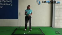 Which is Best Sweeping Swing or Take a Divot Women Golfer Tip Video - by Natalie Adams