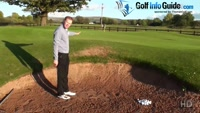 Golf Bunker Shot, Why Does My Ball Roll Out A Long Way Video - by Pete Styles