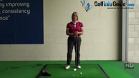 Why Women Golfers need to Strike Down during their Golf Shots and How to Achieve this Video - by Natalie Adams