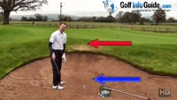 Why Do Golf Pros Bury Their Feet In The Bunker? Video - by Pete Styles