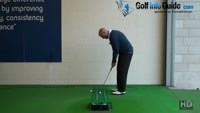 Straight Back Straight Through Putting Stroke Golf Tip Video - by Dean Butler