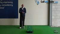 Why you Need Both Hands Working Together with a Flat Palm Grip for Best Putting Results Senior Golf Tip Video - by Dean Butler