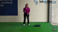 Why you Need Both Palms Parallel on the Grip Women Putting Tip Video - by Natalie Adams