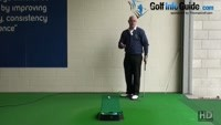Why you Should Align Eyes Over the Golf Ball Senior Putting Help Video - by Dean Butler
