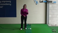 Why you Should Practice Putting with Just One Golf Ball Ladies Golf Tip Video - by Natalie Adams