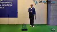 Why you Should Practice Putting with Just One Golf Ball Senior Golf Tip Video - by Dean Butler