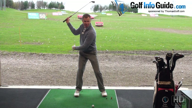 A Step By Step Look At The Golf Down Swing (Video) - by Pete Styles