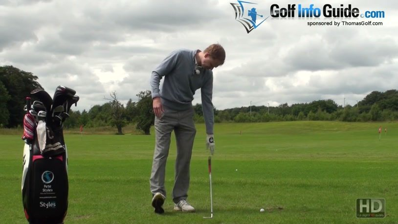Correct Hip Alignment In The Golf Swing (Video) - by Pete Styles