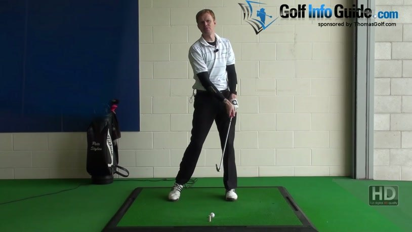 Longer Golf Swing Drill 3 Front arm stretch creates tension (Video) - by  Pete Styles
