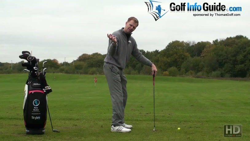 In Golf Right Arm Close To Body Means Power In Your Swing (Video) - by Pete  Styles