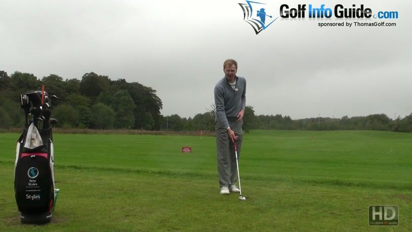 Keep The Shaft And Left Arm In Line For A Wide Golf Swing Takeaway (Video)  - by Pete Styles