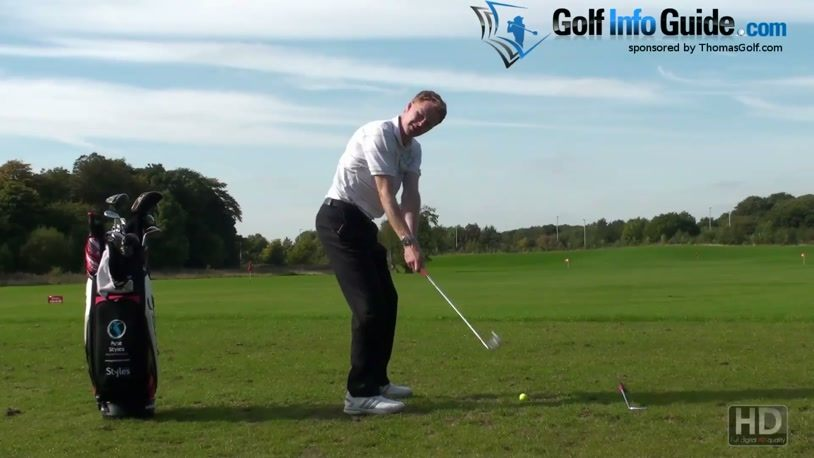 Keep Your Arms In Front Of You To Improve Your Golf Hip Turn In The Down  Swing (Video) - by Pete Styles