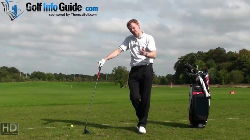 Left Hand Golf Tip: Fixing The Golf Slice (Video)