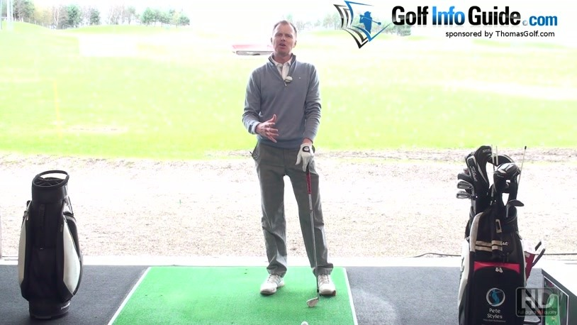 Maintaining Your Width In Your Golf Back Swing (Video) - by Pete Styles