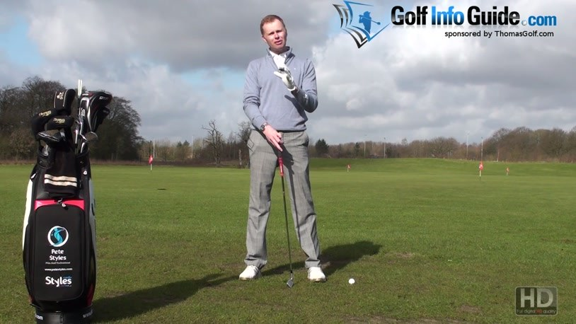 Steve Stricker Firm Wrists Throughout Golf Swing (Video) - by Pete Styles