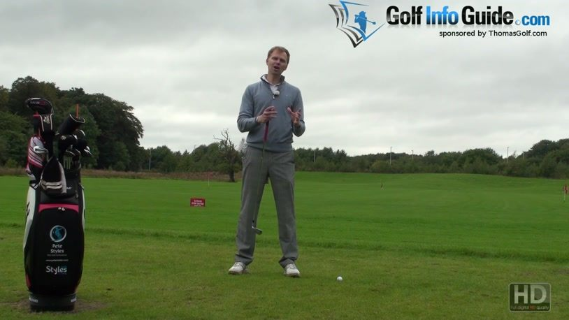 Swinging Too Hard In Your Golf Swing (Video) - Lesson by PGA Pro Pete Styles