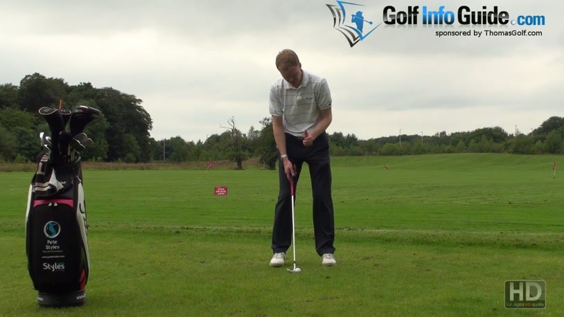 The Role Of The Left Arm In Controlled Golf Chip Shots (Video) - by Pete  Styles