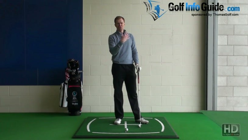 Strong Left-Hand Grip to Square Clubface at Impact (Video) - by Pete Styles