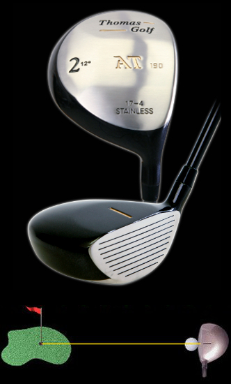 number 2 driver fairway