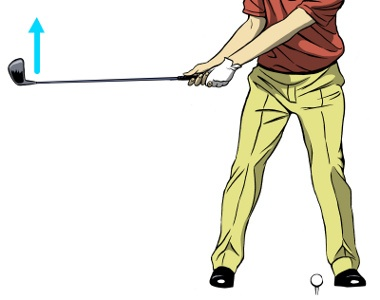 Toe Up Backswing