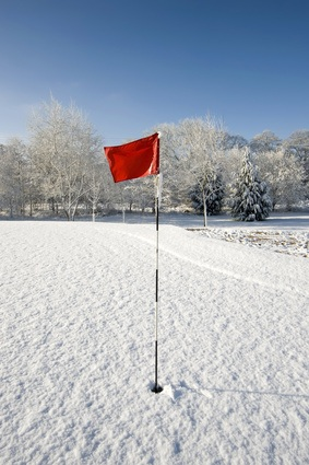 cold golf course