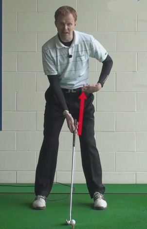 shaft angle with clubs