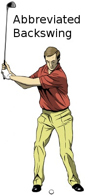 Abbreviated Back Swing
