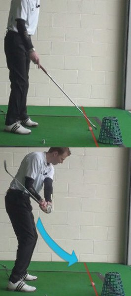 Golf Tip: The Right Way to Keep Your Left Arm Straight 4