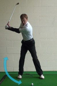 Proper Weight Shift on the Takeaway and Downswing 1
