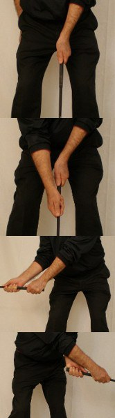 Split Hand Grip One HandA