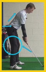 back legs key to a powerful swing 1