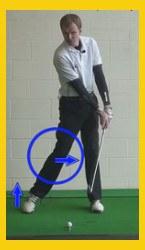 Back Leg Keys a Powerful Golf Swing