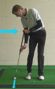 side saddle putting