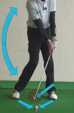 tilt shaft toward target