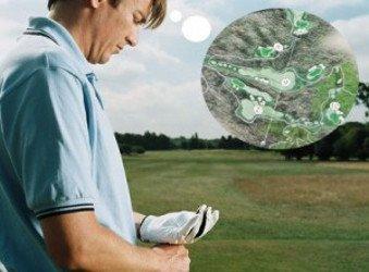 Golfer Thinking