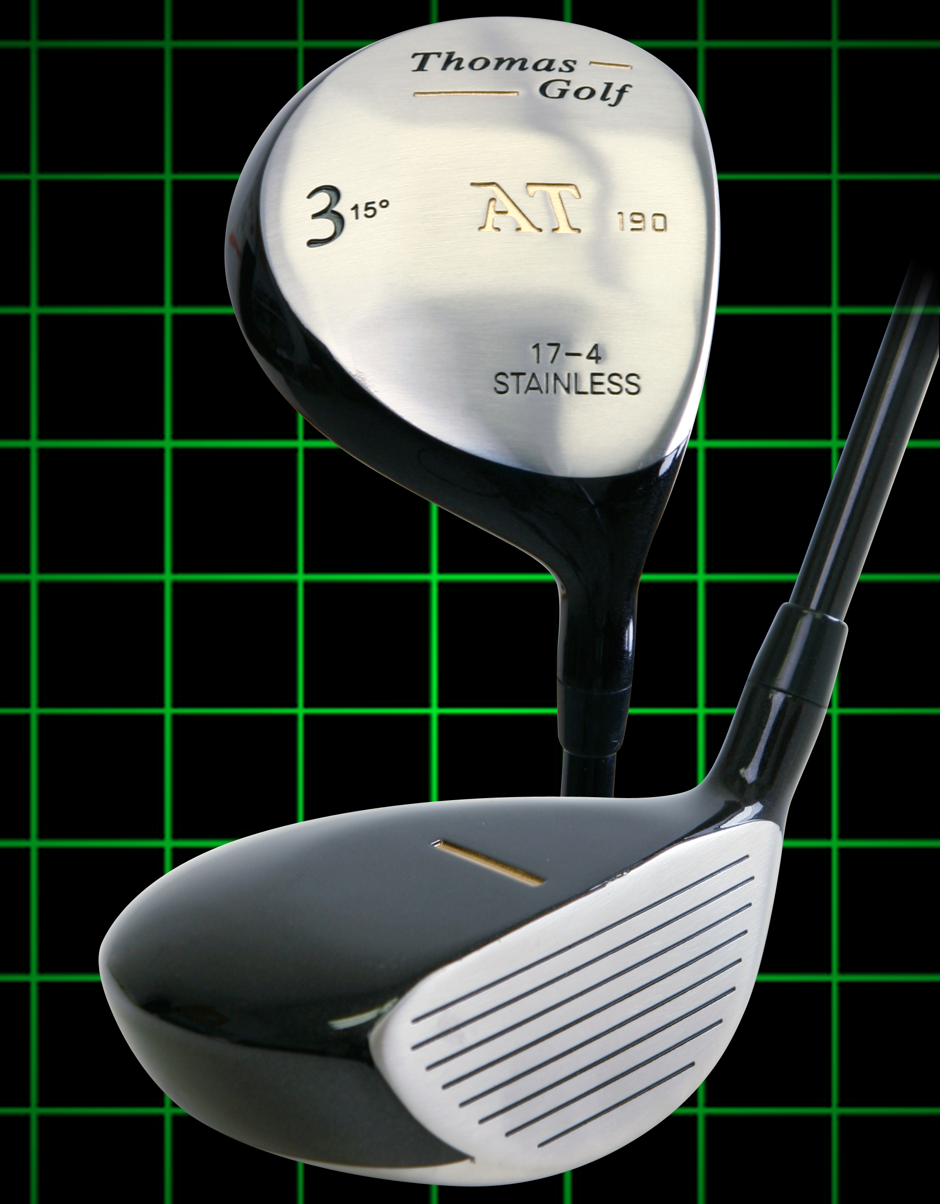 Thomas Golf Fairway Strong 3 Wood