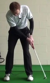 eye alignment putt follow through