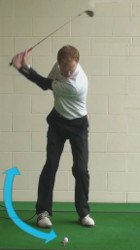 wedge takeaway and backswing 2