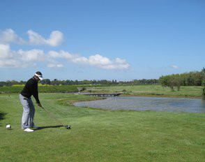 Golf Shot Over Water