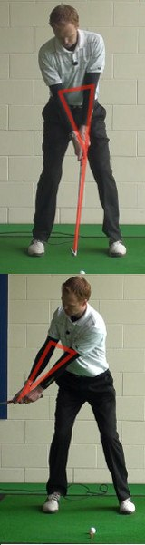 Golf Tip: Start Swing With Left Arm And Shoulder