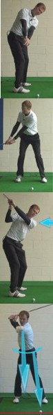 Golf Tip: Start Swing With Left Arm And Shoulder 5