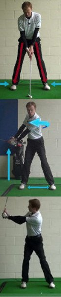 Golf Tip: Start Swing With Left Arm And Shoulder 6