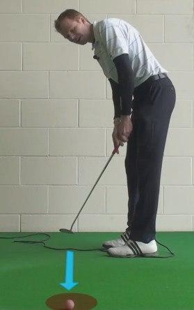 putting two tier taking putt