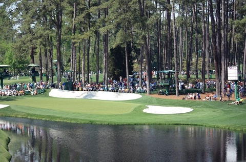 16th Green Augusta National