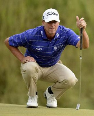 Steve Stricker Firm Wrists Throughout Golf Swing 2