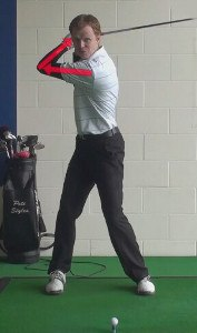calvin peete bent left arm backswing