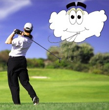 When It's Breezy Swing Easy, Golf Swing Tip