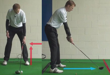 Stand Farther from the Ball to Keep Drives Low A